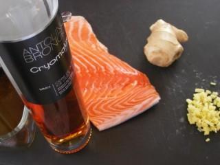saumon au cidre