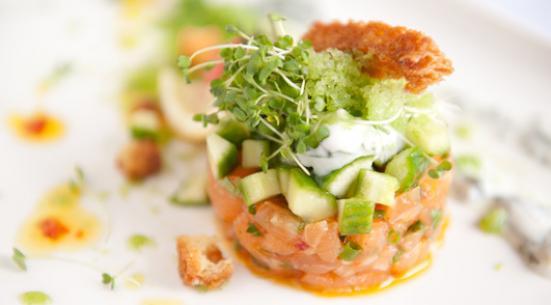 saumon concombre